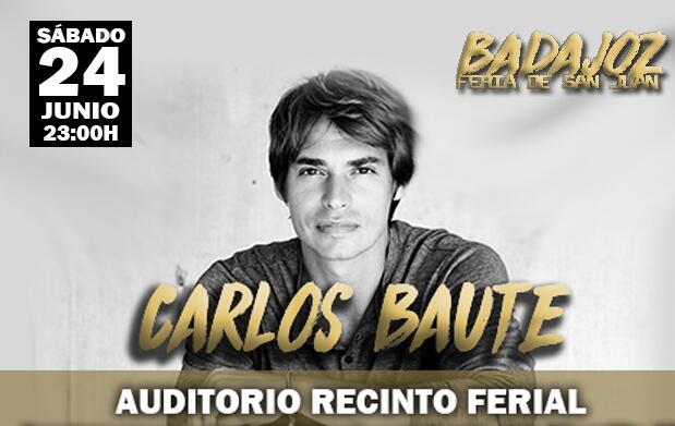 Entrada concierto Carlos Baute