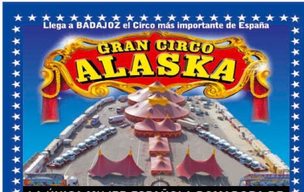 Gran Circo Alaska en Badajoz