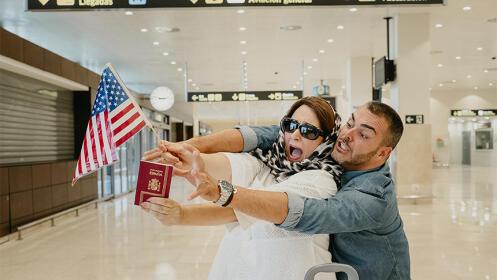 Entrada de butaca para la comedia Pasaporte en Nueva York