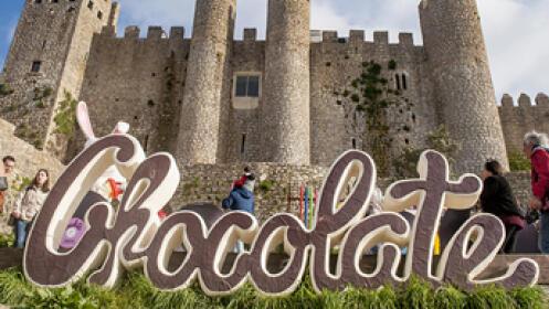 SÁBADO 27 de abril. Festival del chocolate en ÓBIDOS y JARDÍN BUDDHA EDÉN