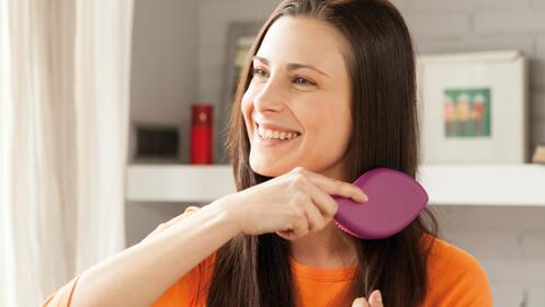 Cepillo Glydelle Brush, ¡No mas tirones de pelo!