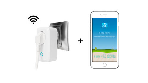 Enchufe smart Wi-Fi