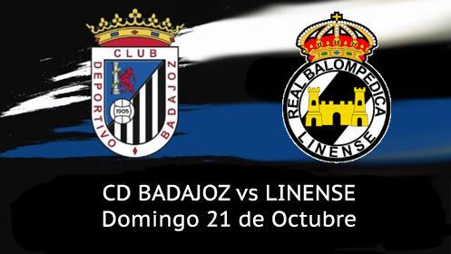 Entrada Partido CD Badajoz vs RB Linense