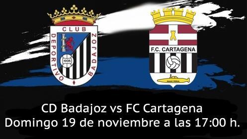 Entrada Partido CD Badajoz vs FC Cartagena