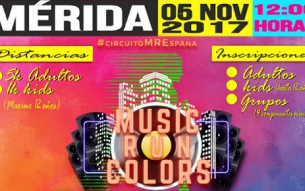 Inscripción a la carrera Music Run Colors