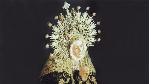 Mosaico Cerámico de la Virgen de la Soledad