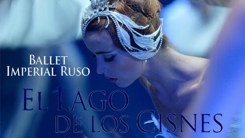 """Entrada para EL LAGO DE LOS CISNES en Cáceres """"Ballet Imperial Ruso"""""""