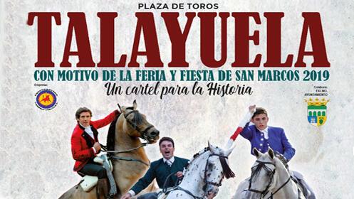 Entrada gran corrida de Toros Arte del Rejoneo (Talayuela)