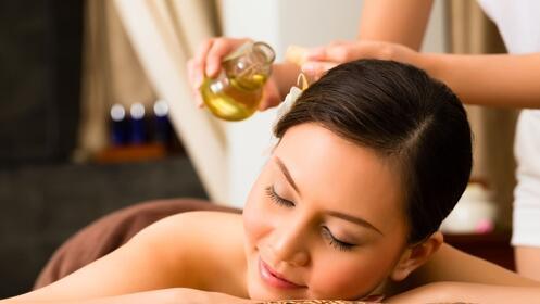 Aromaterapia: tratamiento facial + masaje de espalda