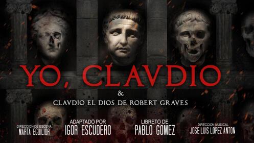 Entrada Cavea IMA Central Baja para la Opera, YO CLAUDIO, en Mérida