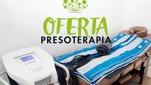 8 SESIONES de presoterapia + 35€ de regalo