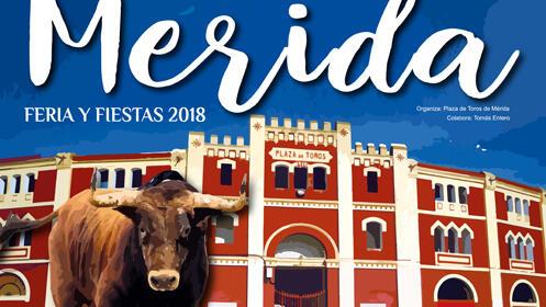 Ferias y Fiestas de Mérida. Corrida de rejones, 31 de agosto