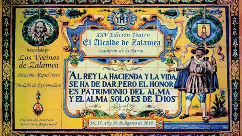 XXV Edición. Entradas para El Alcalde de Zalamea