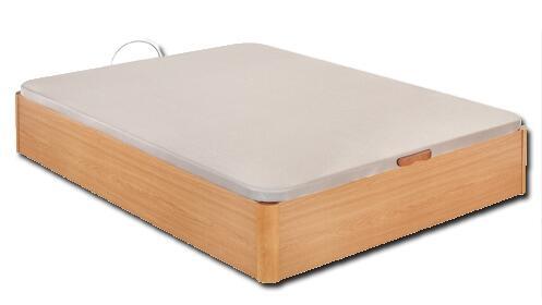 Canapé de madera en color cerezo con gran capacidad + montaje y transporte