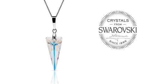 Conjunto Spike de Swarovski Crystals