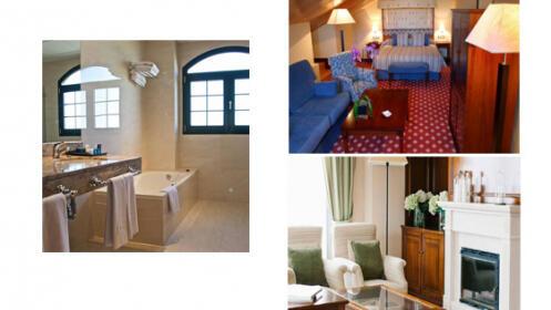 Plan de spa o noche de alojamiento para dos en Ávila