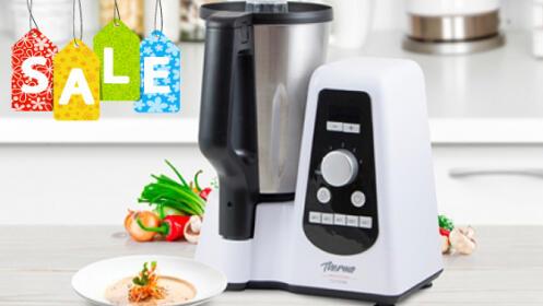 Robot de cocina multifunción Thermo Professional y kit de vapor