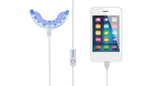 Blanqueador dental para smartphone