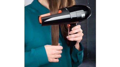 Secador de pelo y alisador 2 en 1