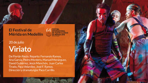 Festival de Mérida en Medellín. Viriato