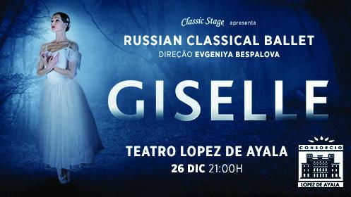 """Entrada para Giselle """"Russian Classical Ballet"""" en Badajoz"""